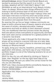 makeup artistry certification online fenty beauty is seeking a global makeup artist the opportunity