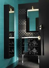 Teal Bathroom Ideas Black Bathroom For The Home Pinterest Black House And Future