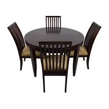 Second Hand Kitchen Table And Chairs by 75 Off Macy U0027s Macy U0027s Bradford Extendable Dining Table With 4