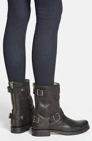 short black motorcycle boots frye veronica short black boot with zipper detail fashionista