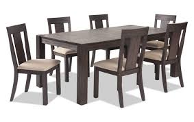 Bobs Furniture Kitchen Table Set Summit 42 X 78 7 Dining Set Bob S Discount Furniture