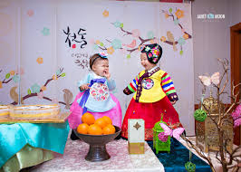 korean birthday san jose dol party korean birthday baby h baby l