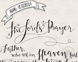 the lord u0027s prayer svg cut file bible verse hand