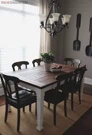 Free Wooden Dining Table Plans by 25 Best Farmhouse Dining Tables Ideas On Pinterest Farmhouse