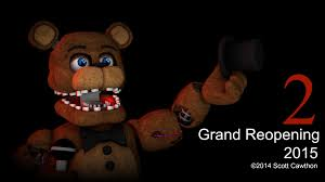 fnaf 2 grand opening sfm poster created by thekillingdude