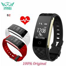 oled bracelet review images S2 bluetooth 4 0 smart band wristband heart rate monitor oled jpg