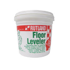 rutland 3 1 2 lbs floor leveler tub 241 the home depot