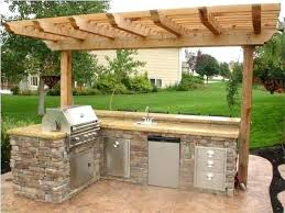 kitchen plan ideas diy outdoor kitchen plans designs gorgeous outside ideas coolest