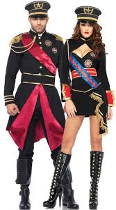 Army Costume Halloween Diva Dictator Military General Commander Halloween Costume