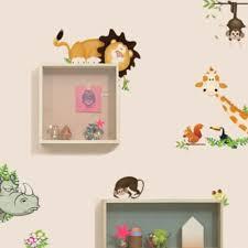 cartoon car wall stickers for kids room children boy bedroom aliexpresscom buy big jungle animals vinyl wall stickers kids