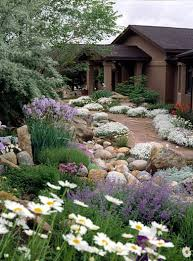 low upkeep landscapes front yards yards and landscaping