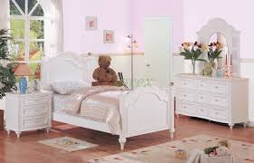 Furniture Oak Wood Kids Bedroom Furniture With Twin Size Bed - Youth bedroom furniture ideas