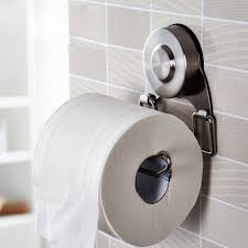 suction cup 4 5 inch long toilet paper holder sus304 stainless