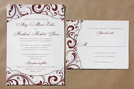 wedding invitations burgundy burgundy wedding invitations christmanista
