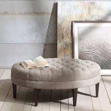 tufted round ottoman ormand ivory tufted round ottoman tufted full size of tables u0026 chairs large round ottoman sofa coffee table tufted oval footstool