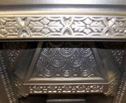 art deco 1930s tiled fireplace