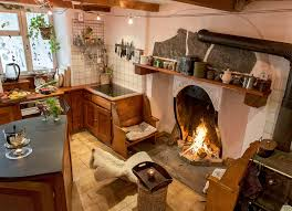 100 kitchen fireplace ideas flickering and flaming outdoor