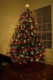 tree ornaments ribbon tree image 88354