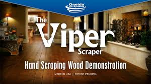 viper scraper scraping wood demo
