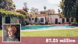 marilyn monroe house address marilyn monroe s onetime brentwood home sells for over the asking