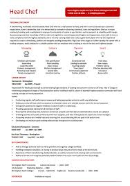Culinary Resume Template Cook Resume Examples Resume Example And Free Resume Maker