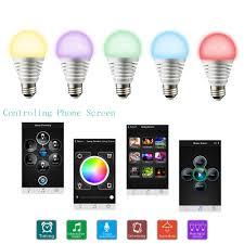 Tomshine Bluetooth Smartphone Controlled Dimmable Color Changing