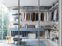corner walk in wardrobe contemporary wooden with sliding