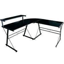 bureau angle verre noir bureau verre angle bureau d angle en bureau dangle en verre noir pas