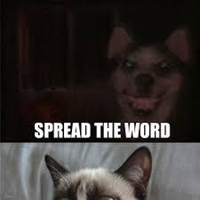 Frowning Dog Meme - smile dog meet frown cat by elijah osborne 54 meme center