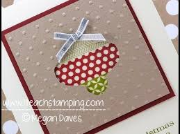 discover how to make this easy christmas card using stampin u0027 up u0027s