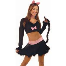 black kitty halloween costume reno sheriff womens costume by charades halloween