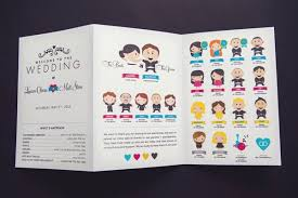 exles of wedding program creative wedding programs and what to include mywedding
