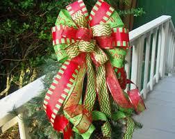 christmas tree bows christmas bow toppers and lime christmas tree