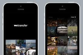 send files from android to iphone wetransfer files up to 10 gb on web ios android