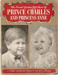 second golden gift book of prince charles and princess anne by
