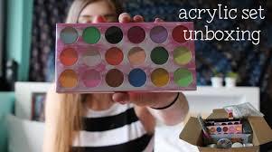 ebay acrylic nail kit unboxing nina holly youtube