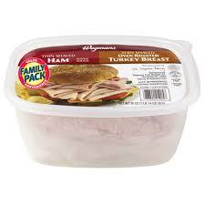 ham turkey breast combo family pack wegmans