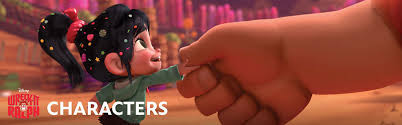 characters wreck ralph disney movies