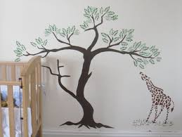 Large Tree Template For Wall contemporary tree wall stencils bedroom as as painting palm