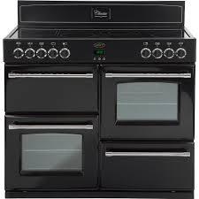 buy belling classic 110e black 110cm electric range cooker
