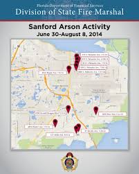 Sanford Florida Map by Cfo Press Release 8 13 2014 Cfo And State Fire Marshal Jeff