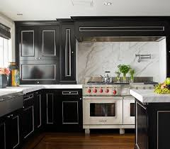 Black Lacquer Kitchen Cabinets Design Ideas - Black lacquer kitchen cabinets