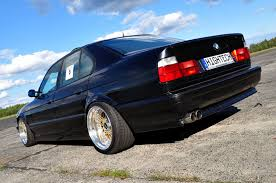 bmw e34 stance bmw 525i e34 12 cylinder on custom 17 11 5 bbs rs jdmeuro com