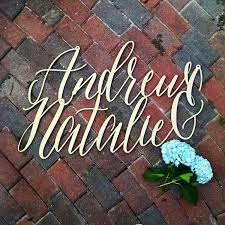 wedding backdrop font large custom s name sign wedding decor asterism