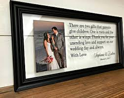 wedding gift groom to wedding gift parents etsy