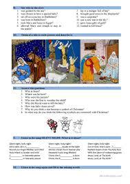 nativity story worksheet free esl printable worksheets made by