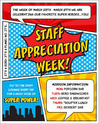 25 appreciation week ideas