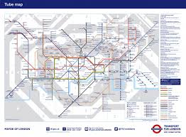 Tube Map London Official Map Of London 24 Hour Tube Lines Launching In September