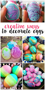 easter eggs decoration creative ways for kids to decorate easter eggs crafty morning