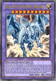 blue eyes twin burst dragon yugioh ocg by yeidenex deviantart com